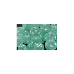 Frosted™ Teal/white (36-dice set)