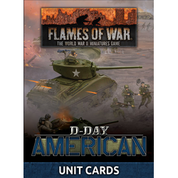 D-Day: American Unit Cards
