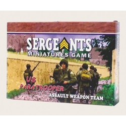 Sergeants Miniature Game: US Paratrooper Assault Team