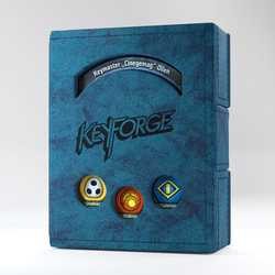 GameGenic Keyforge Deck Book Blue