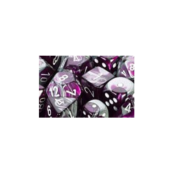 Gemini: Purple-Steel/white (12-die set)