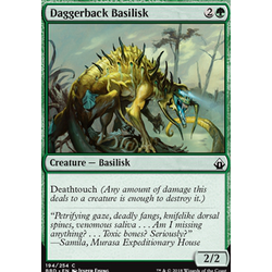 Magic löskort: Battlebond: Daggerback Basilisk (Foil)