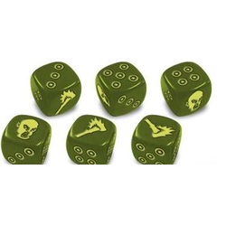 Zombicide: Green Horde - Custom Green Dice