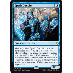 Magic löskort: War of the Spark: Spark Double