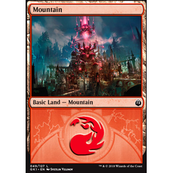 Magic löskort: Guild Kits: Mountain (Izzet)