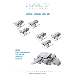 Halo: Ground Command - Covenant Vanguard Ghost Box