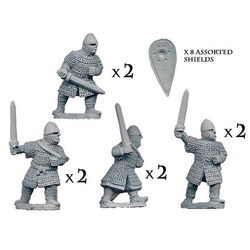 Dismounted Norman Knights with swords (8)