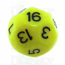 Impact Dice D16 - Yellow