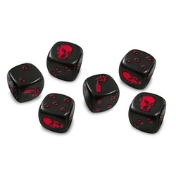 Zombicide: Dice (black)