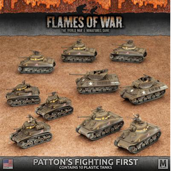American Army Box Patton's Fighting First (Plastic)