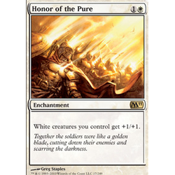Magic Löskort: Core Set 2011 (M11): Honor of the Pure