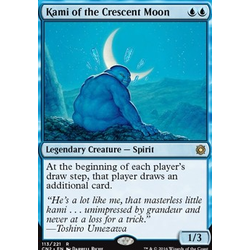 Magic löskort: Conspiracy: Take the Crown: Kami of the Crescent Moon