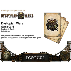 Dystopian Wars Game Cards