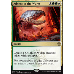 Magic löskort: Guild Kits: Advent of the Wurm