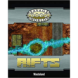 Savage Worlds RPG: Rifts Map - Wasteline / Ley Line