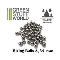 Paint Mixing Steel Bearing Balls in 6.35mm