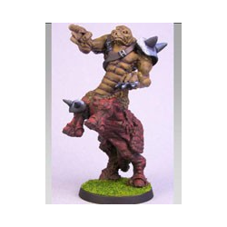 Fantasy Football Chaos Dwarves -  Bullcentaur Zoat the Bibbisaur (Impact)