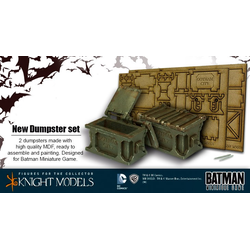 Batman Miniature Game: Dumpster Set