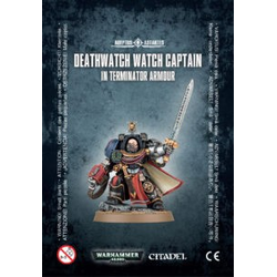 Space Marine Deathwatch Watch Captain in Terminator Armour