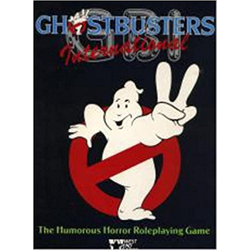 Ghostbusters International: The Humorous Horror RPG (box)
