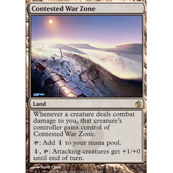 Magic löskort: Mirrodin Besieged: Contested War Zone