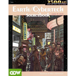 2300AD: Earth/Cybertech Sourcebook