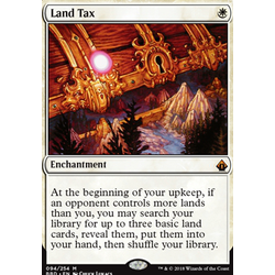 Magic löskort: Battlebond: Land Tax