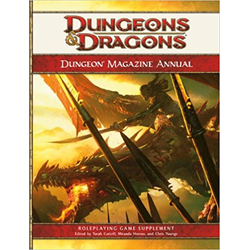 D&D 4.0: Dungeon Magazine Annual