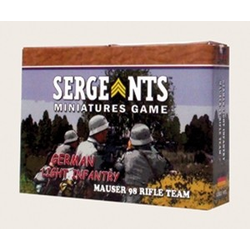 Sergeants Miniature Game: German Light Infantry Rifle Team