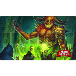 Hero Realms: Play Mat Tyrannor