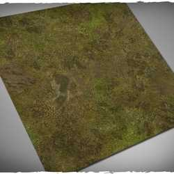 DCS Game Mat Muddy Fields 2x2 ~ 61x61cm (Mousepad)