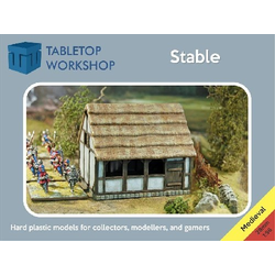 28mm Medieval Stable