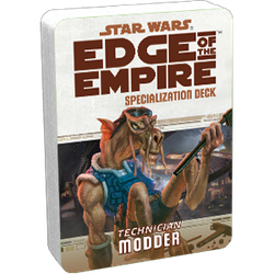 Star Wars: Edge of the Empire: Specialization Deck - Technician Modder