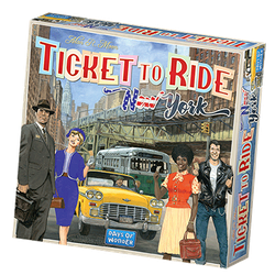 Ticket to Ride: New York (eng. regler)