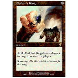 Magic löskort: 7th Edition: Aladdin's Ring