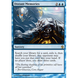 Magic löskort: Mirrodin Besieged: Distant Memories