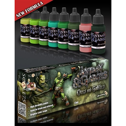 Scale 75: Fantasy & Games - Orcs & Goblins Paint Set