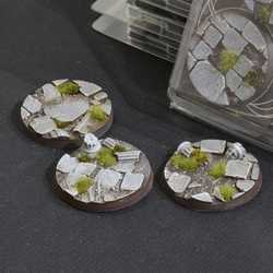 Battle Ready Bases - Temple 50mm Round (3)