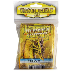 Dragon Shield Sleeves - Standard Yellow (50 ct. in bag)