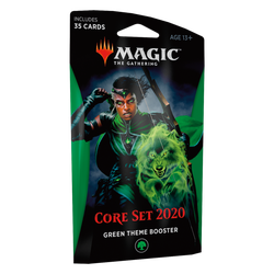 Magic The Gathering: Core 2020 (M20) Theme Booster Pack - Green