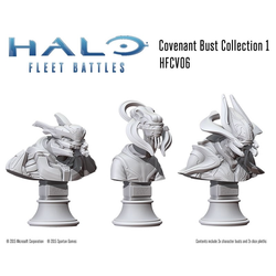 Halo: Fleet Battles Covenant Commanders & Heroes Collection 1