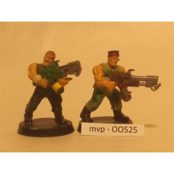 Imperial Guard: Catachan Special Weapons (2 st, Begagnat, Plast)