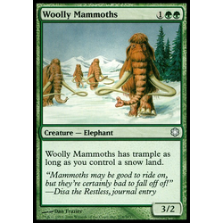 Magic löskort: Coldsnap: Woolly Mammoths