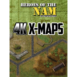 Lock 'n Load Tactical: Heroes of the Nam 4K X-Maps