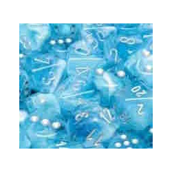 Luminary™ Sky/silver (36-dice set)