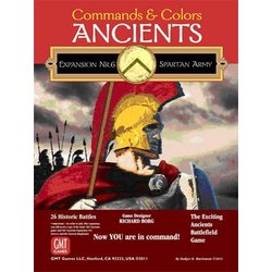 Commands & Colors: Ancients Expansion 6: The Spartan Army (kantstött)