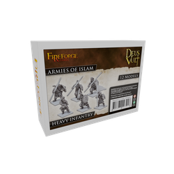 Fireforge: Armies of Islam - Heavy Infantry  (resin)