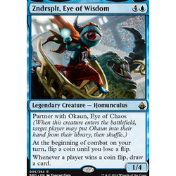 Magic löskort: Battlebond: Zndrsplt, Eye of Wisdom