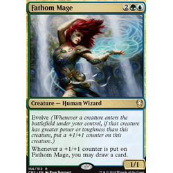Magic löskort: Commander Anthology 2018: Fathom Mage