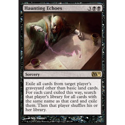 Magic Löskort: Core Set 2011 (M11): Haunting Echoes